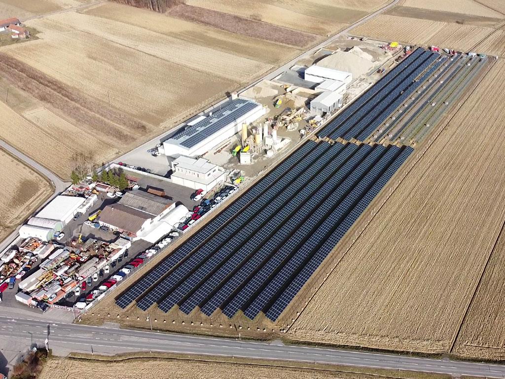 Photovoltaik Freifläche Steiermark
